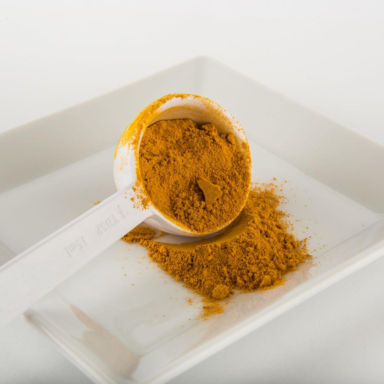 gurkmeja pulver eller tabletter
