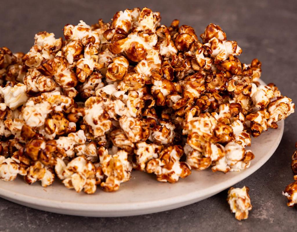 choklad popcorn recept